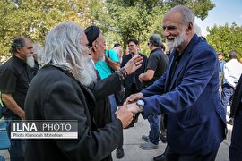 هنرمندان در بدرقه مسعود عربشاهی (عکس)