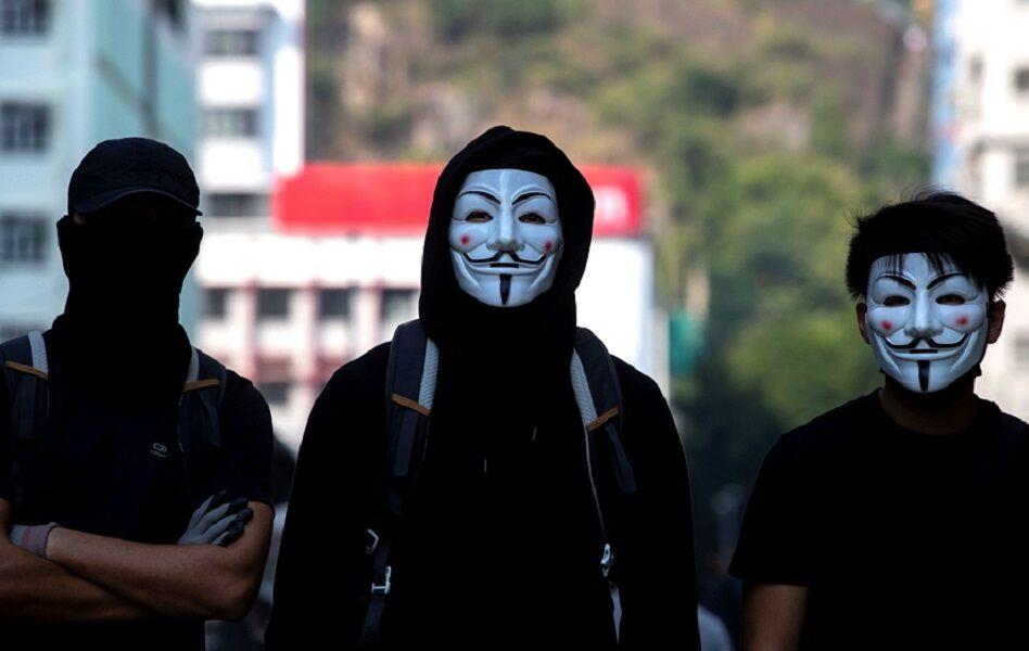 استفاده از ماسک در هنگ کنگ ممنوع شد