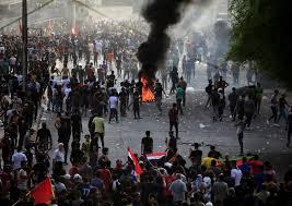 کمیته حقوق بشر عراق: 94 کشته در اعتراضات بغداد