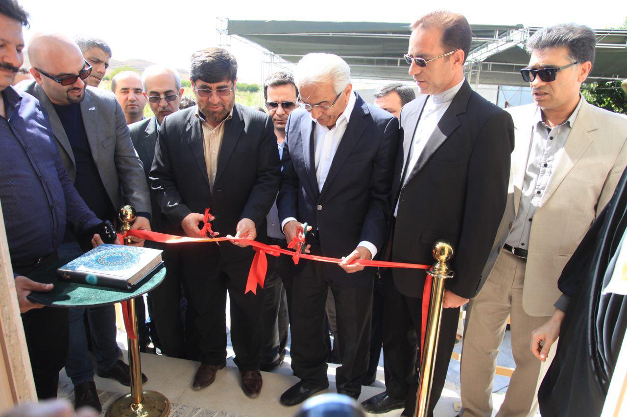 گروه کوبل 2 خانه بهداشت در استان زلزله زده کرمانشاه افتتاح کرد