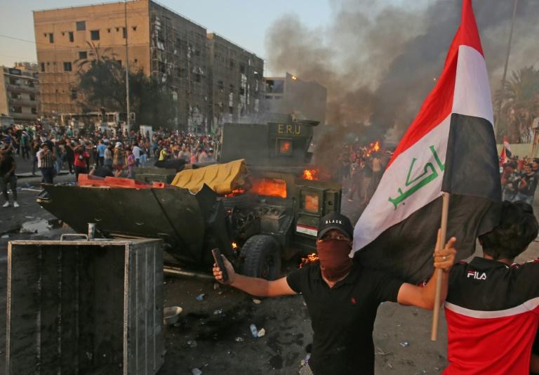 افزایش تلفات اعتراضات عراق به 100 نفر
