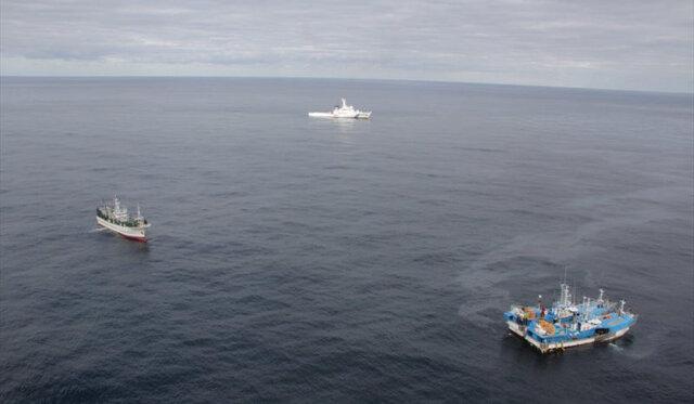 برخورد ۲ کشتی در آبهای ژاپن