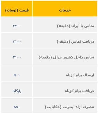 تعرفههای ویژه ایرانسل برای زائران اربعین 1398