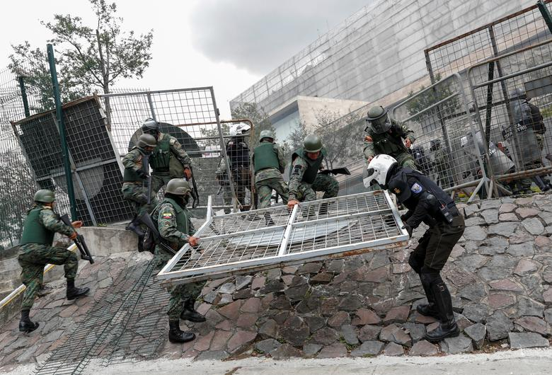 اعتراض مردم اکوادور به سیاست ریاضت اقتصادی (+عکس)