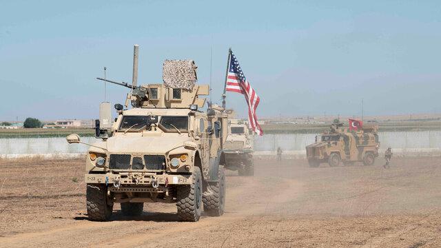 خبرگزاری سوریه:50 نیروی آمریکایی استان حسکه را به مقصد عراق ترک کردند