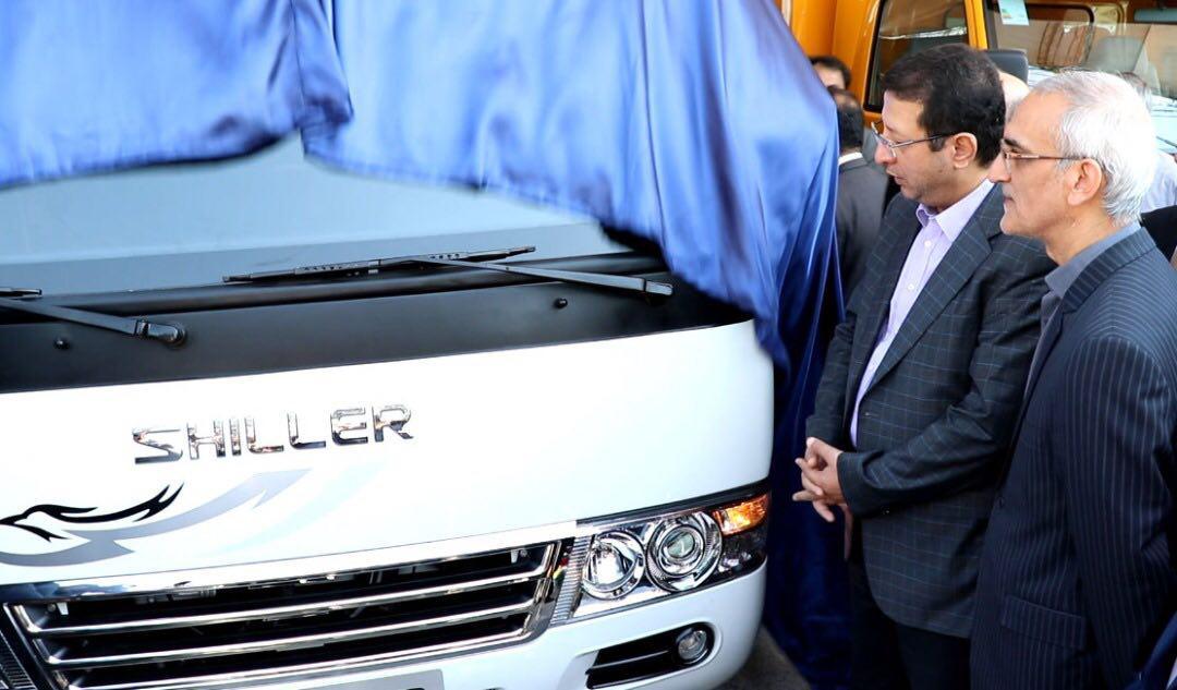 رونمایی از 2 محصول جدید پلتفرم شیلر در نمایشگاه حمل و نقل و خدمات شهری