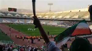 پلیس پایتخت: کسی در ورزشگاه آزادی دستگیر نشده است