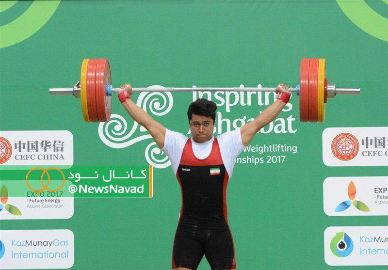 تک مدال برنز دو ضرب حاصل کار موسوی در وزنه برداری قهرمانی جهان/ وداع تلخ کیانوش با مسابقات