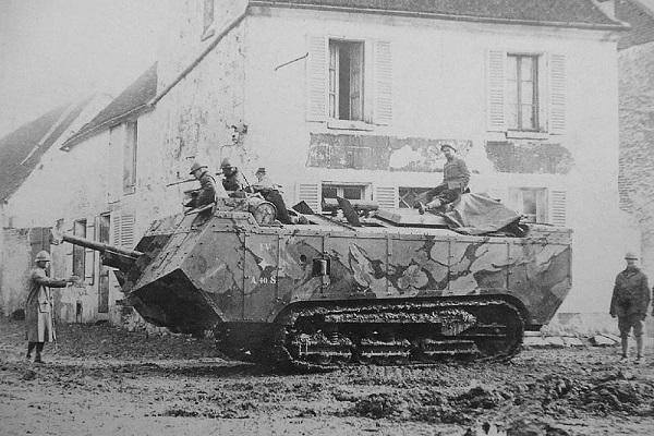 سن شامون؛ متفاوت ترین تانک فرانسوی!