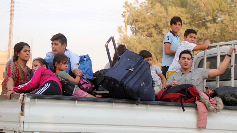 سازمان ملل: 100 هزار نفر آواره در حمله ترکیه به سوریه