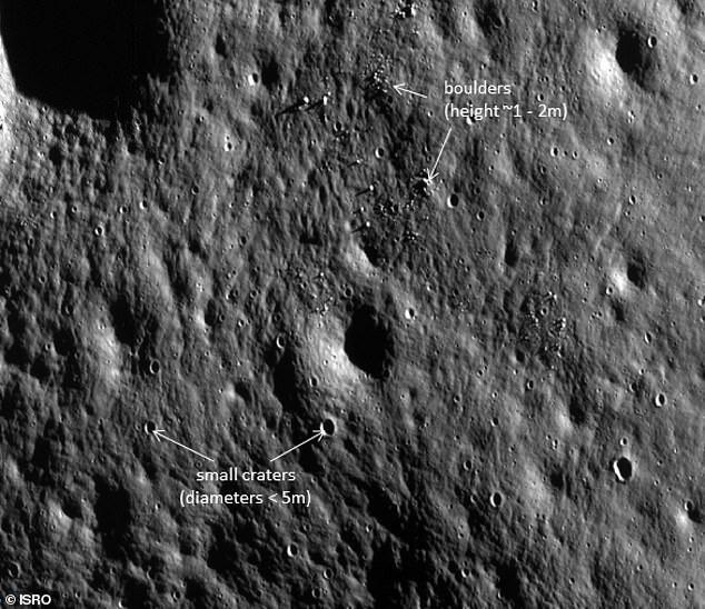 محققان آمریکایی: برخی از یخهای ماه تازه تشکیل شدهاند