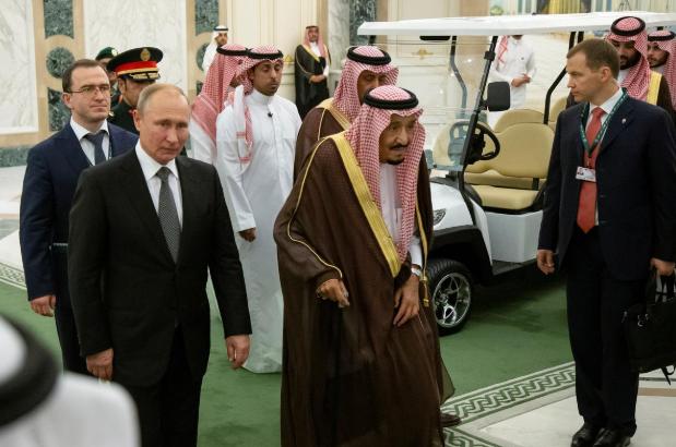 افزایش نفوذ تزاری از خاور میانه/ پوتین در عربستان چه میکند؟