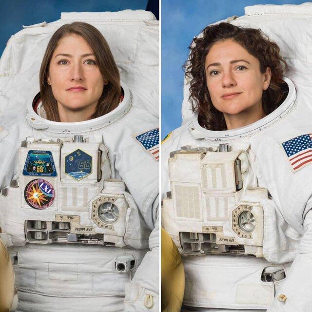 ناسا: اولین پیادهروی فضایی کاملا زنانه فردا یا پس فردا