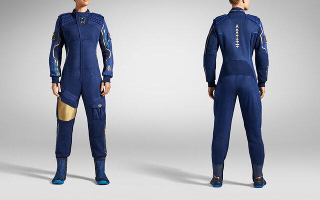 رونمایی از لباس گردشگران فضایی