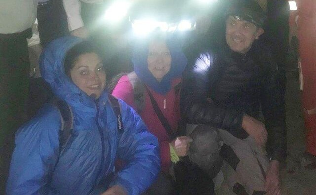 نجات 3 گردشگر فرانسوی گرفتار در باتلاق «بندر رحمانلو» آذربایجان شرقی