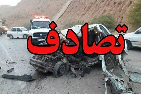 2 کشته در تصادف جاده یاسوج به اصفهان