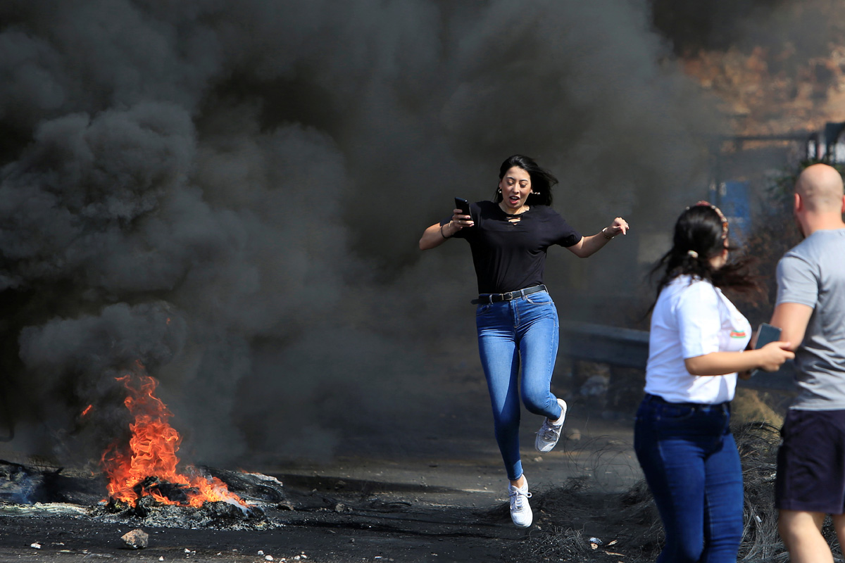 تظاهرات در لبنان (+عکس)