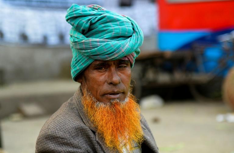 ریش قرمز، مد پیرمردهای بنگلادش