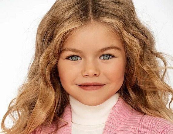 مدل 6 ساله ای که خبرساز شد (+عکس)