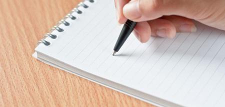 نکاتی را که هنگام یادداشت برداری باید بدانید