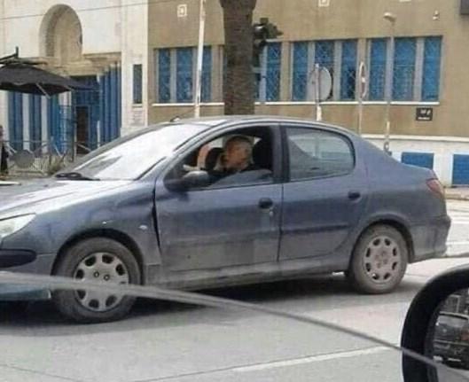 خودروی رئیس جمهور جدید تونس (+عکس)