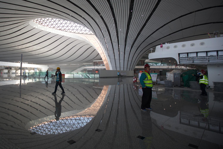 افتتاح فرودگاه جدید پکن؛ بزرگترین و شلوغ ترین در 2024
