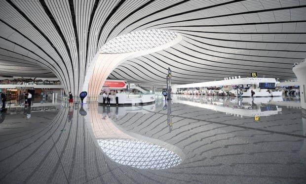 فرودگاهی به شکل ستاره دریایی با ظرفیت 72 میلیون مسافر در چین