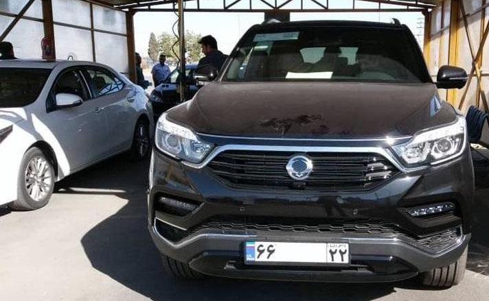 رکستون جی4 مهمان جدید خیابان ها در محدودیت های واردات خودرو