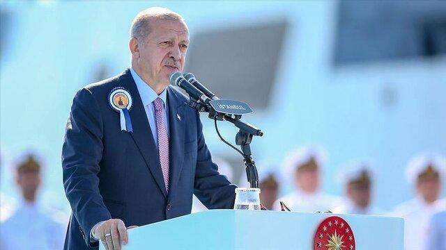 اردوغان: ترکیه یکی از ۱۰ کشور برتر در زمینه صنایع دفاعی است