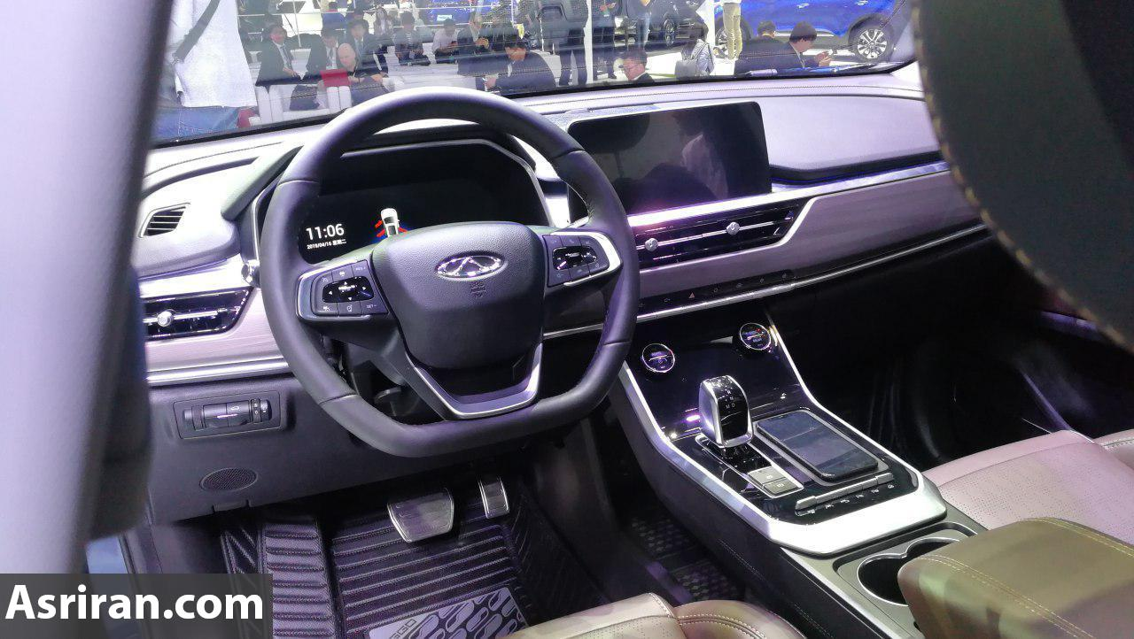 خودروی جدید بازار ایران در حال تست های فنی در خیابان (+عکس)