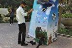 بطری بیاندازید، به حیوانات شهری غذا بدهید/ یک دستگاه برای مهمانی گربهها (فیلم)