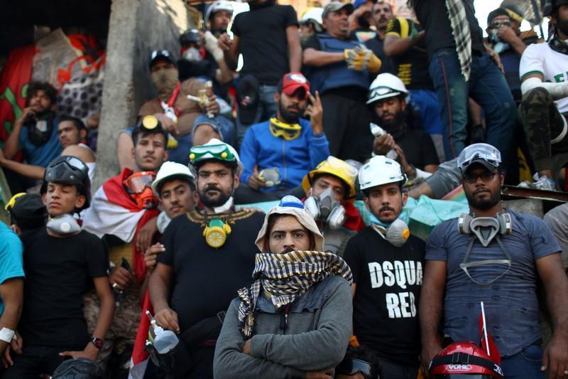 رویترز: بزرگترین اعتراض از زمان سقوط صدام تا کنون
