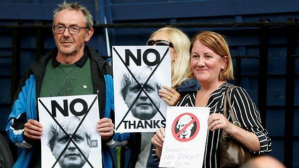اسکاتلندیهای جداییطلب در خیابان