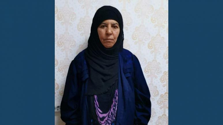 دستگیری خواهر ابوبکر بغدادی رهبر کشته شده داعش در شمال سوریه