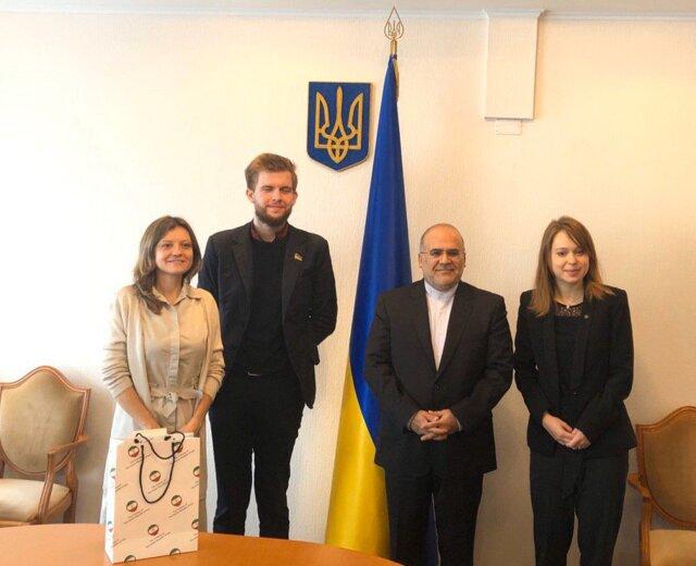 ملاقات سفیرایران با اعضای کمیته سیاست خارجی پارلمان اوکراین