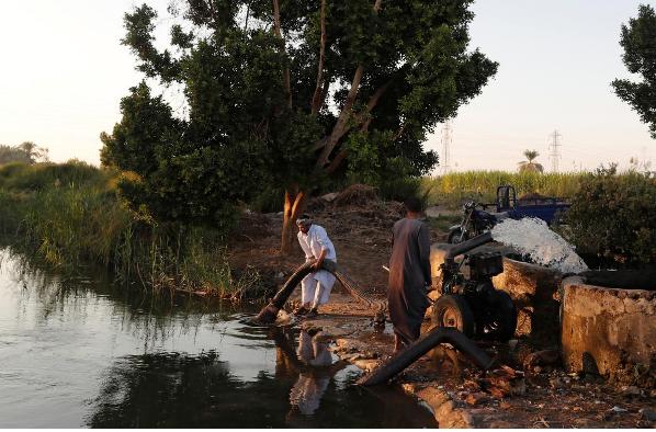 بحران کم آبی در مصر: