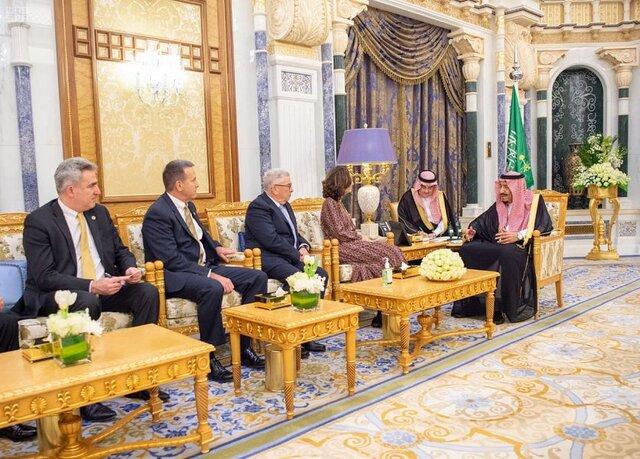 دیدار رئیس سیا با پادشاه عربستان