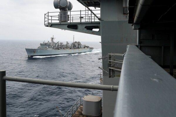 سطح هشدار امنیتی برای کشتیهای انگلیسی در خلیج فارس کاهش یافت