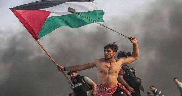 انتخاب عکس تظاهرکننده فلسطینی به عنوان عکس برتر 2019 گاردین