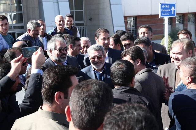 وزیر کشور: تصمیمات لازم برای حل مشکلات مرز باشماق گرفته شد