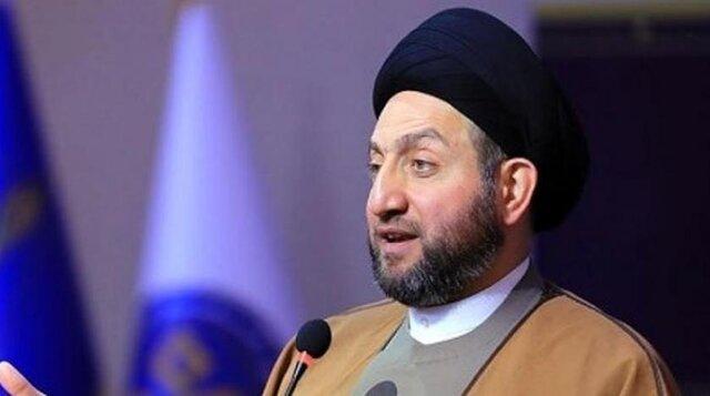 عمار حکیم: تلاشهای کنونی برای اصلاحات در عراق ثمره جانفشانیهای تظاهرکنندگان است