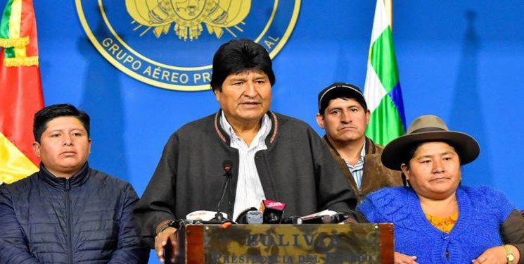 مورالس تسلیم شد: استعفا می دهم/ معترضان جشن گرفتند