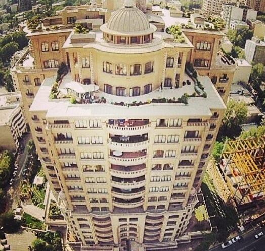 روما رزیدنس/ برج  فوق لوکس خیابانهای شمالی تهران(+عکس)