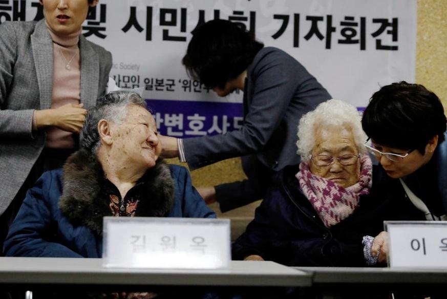 زنان کارگر جنسی کره جنوبی خطاب به ژاپن: غرامت بدهید
