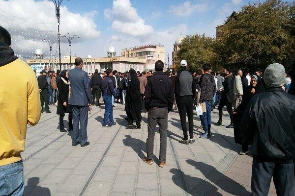 تجمع بنزینی در همدان (+عکس)