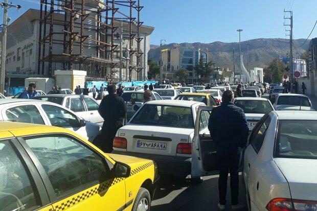 تجمعات اعتراضی در شهرهای مختلف در واکنش به گران شدن بنزین
