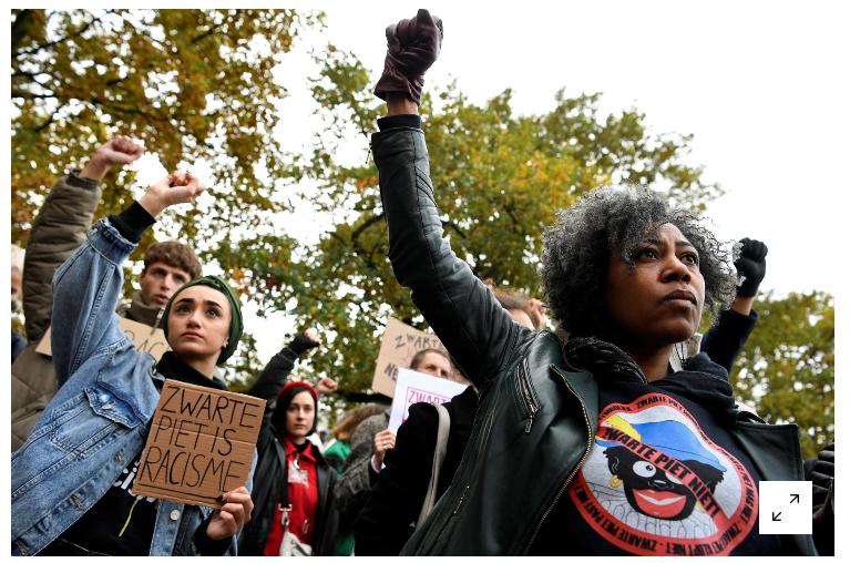 اعتراضات ضدنژادپرستی علیه هلند (+عکس)