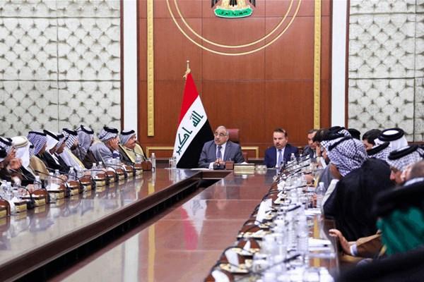 نخستوزیر عراق: تظاهرات حق است و باید به آزادی بیان احترام گذاشت