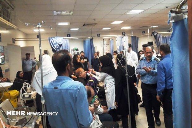 مراجعه 4400 اهوازی به بیمارستان به علت تنگی نفس در 24 ساعت