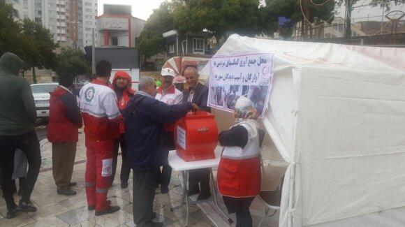 هلال احمر: جمع آوری کمک در کردستان ایران برای کردهای سوریه